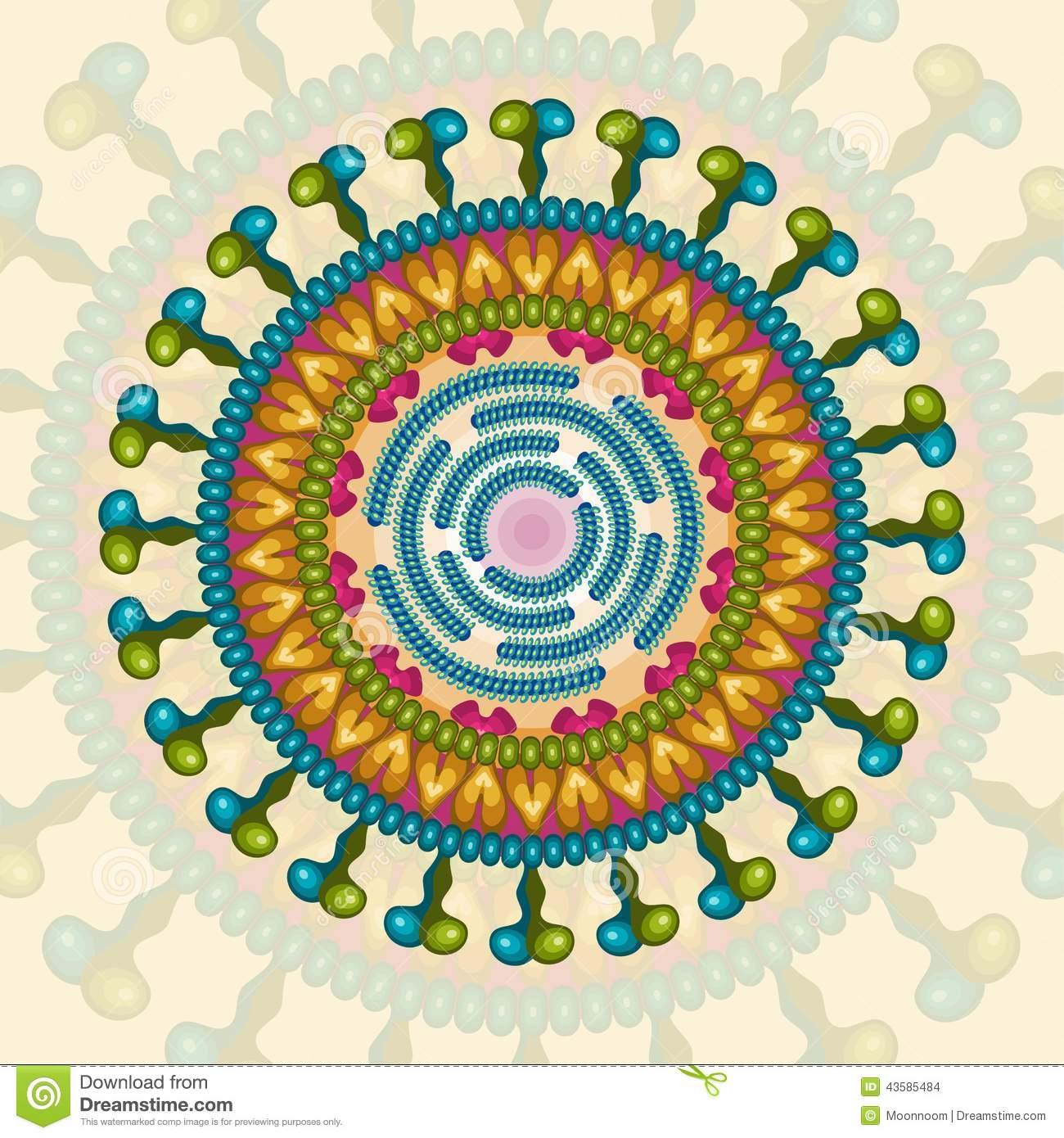 mô hình cấu trúc của rotavirus